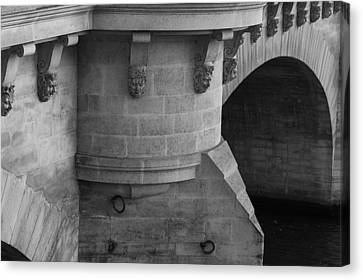 Canvas Print featuring the photograph Pont Neuf by Glenn DiPaola