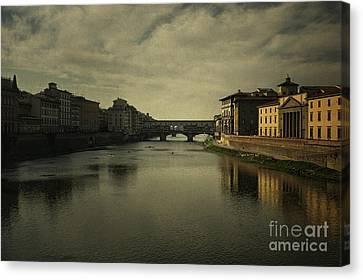 Ponte Vecchio 2 Canvas Print by Belinda Greb