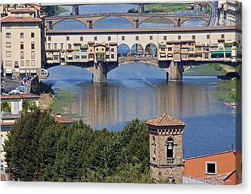 Ponte Vecchio Canvas Print by Ivete Basso Photography