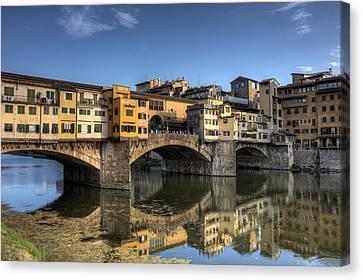 Ponte Vecchio Canvas Print by Maico Presente