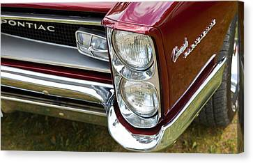 Canvas Print featuring the photograph Pontiac Detail by Mick Flynn