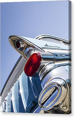 Pontiac Wagon - Metal And Speed Canvas Print by Holly Martin