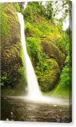 Falling Water Creek Canvas Print - Pony Tail Falls by Jeff Swan