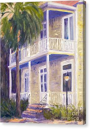 Ghost Story Canvas Print - Poogan's Porch by Patricia Huff