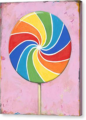 Pop Art #1 Canvas Print by David Palmer