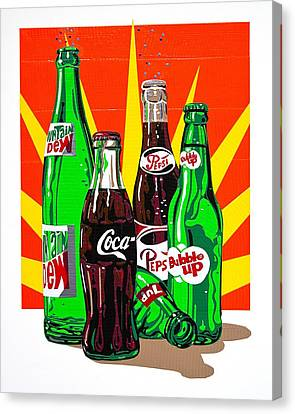 Pop Art Canvas Print by Neil Garrison