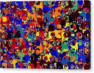 Pop Colors 14 Canvas Print by Craig Gordon