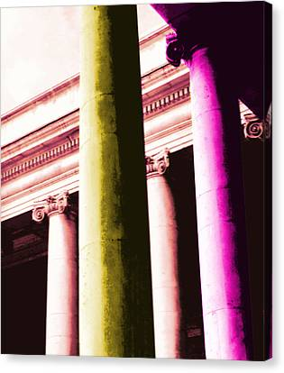 Pop Columns Canvas Print