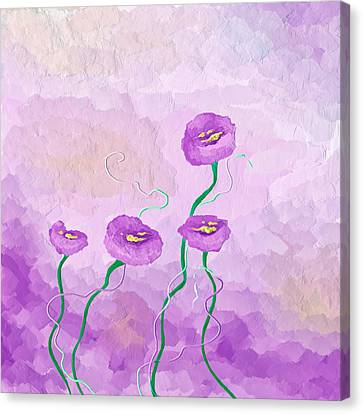 Pop Of Purple Canvas Print by Brenda Bryant