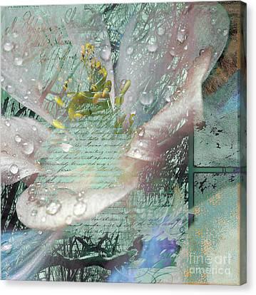 Pop V Canvas Print by Yanni Theodorou