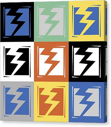 Popart Flash  Canvas Print