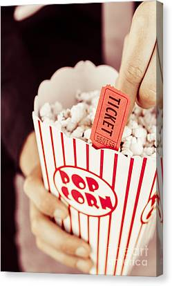 Popcorn Box Office Canvas Print by Jorgo Photography - Wall Art Gallery