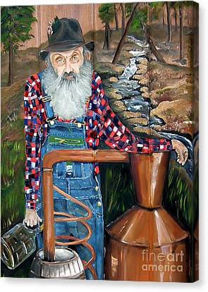 Popcorn Sutton - Bootlegger - Still Canvas Print