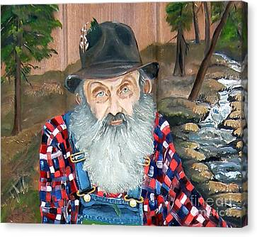Popcorn Sutton - Moonshine Legend - Landscape View Canvas Print