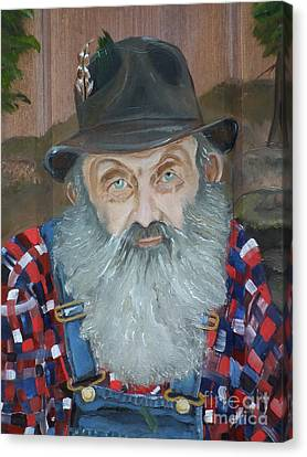 Popcorn Sutton - Moonshiner - Portrait Canvas Print