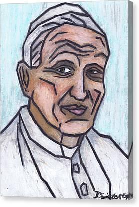 Pope John Paul II Canvas Print by Kamil Swiatek