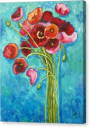 Poppies Canvas Print