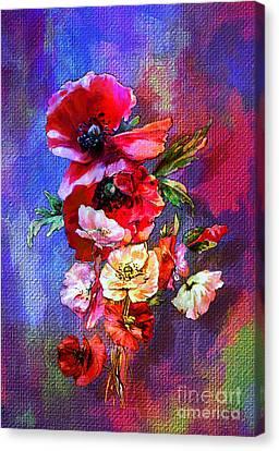 Poppies Canvas Print by Andrzej Szczerski