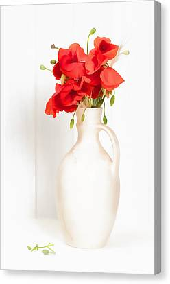 Poppies Canvas Print by Amanda Elwell