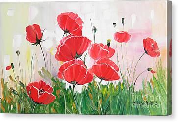 Canvas Print - Poppies by Denisa Laura Doltu