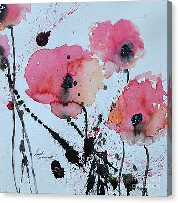Poppies- Painting Canvas Print