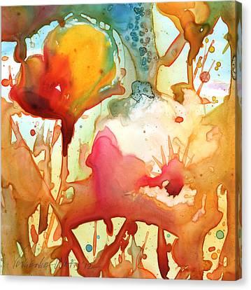 Poppies Canvas Print by Yevgenia Watts