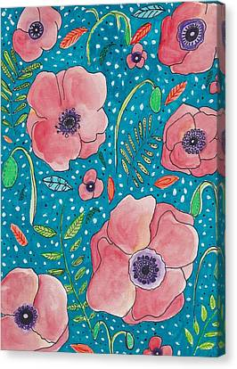 Poppy Dream Canvas Print