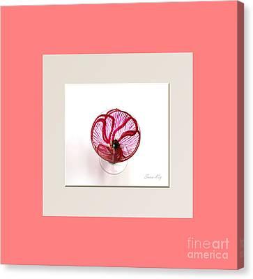 Poppy. Soul Inspirations Collection Canvas Print by Oksana Semenchenko
