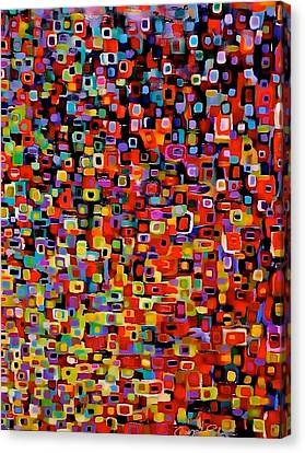Pattern Canvas Print - Populated by Carol Estes