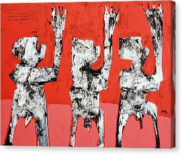 Populus No. 5 Canvas Print by Mark M  Mellon