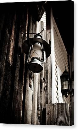 Porch Lantern Canvas Print by Swift Family