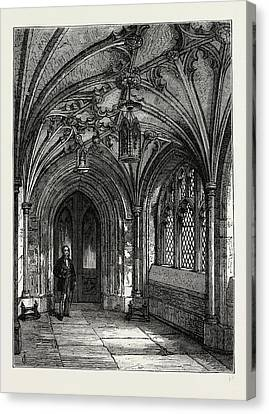 Porch Of St. Sepulchres Church Canvas Print by Litz Collection