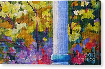 Porch View Canvas Print by John Clark