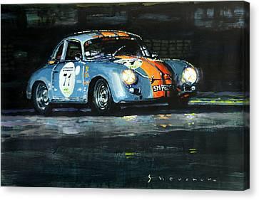 Porsche 356 A 1959 Le Mans Classic 2010 Canvas Print