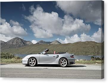Porsche 911 - 996 Turbo Canvas Print by Stephen Taylor