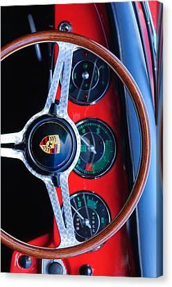 Porsche Iphone Case 1 Canvas Print by Jill Reger