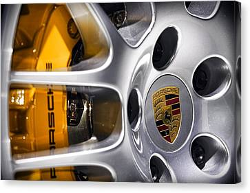 Porsche Wheel Canvas Print by Gordon Dean II