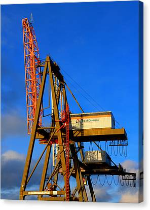 Canvas Print featuring the photograph Port by David Stine