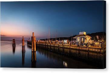 Canvas Print featuring the photograph Port Jefferson by Mihai Andritoiu