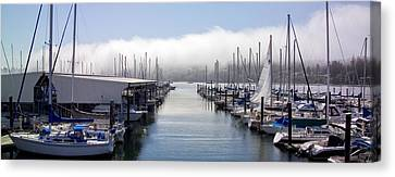 Canvas Print featuring the photograph Port Kingston Marina by Greg Reed