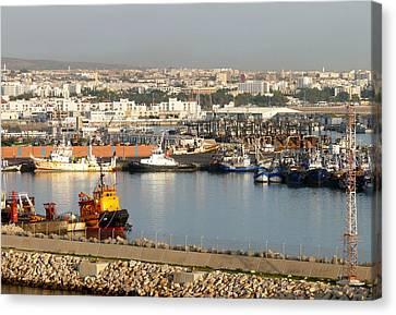 Port Of Agadir Morocco 1 Canvas Print
