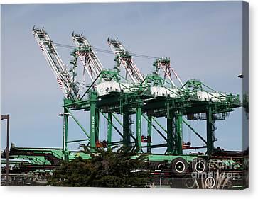 Port Of Oakland 5d22265 Canvas Print