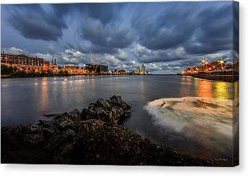 Port Of Oswego Canvas Print by Everet Regal