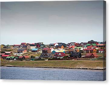 Port Stanley In The Falkland Islands Canvas Print