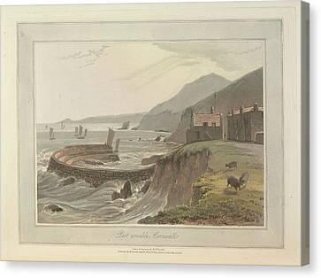 Port Wrinlke Canvas Print by British Library