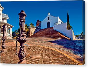 Canvas Print featuring the photograph Porta Coeli Church by Ricardo J Ruiz de Porras