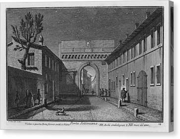Porta Settimiana Canvas Print