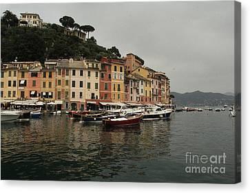 Portafino Italy  Canvas Print by Diane Greco-Lesser