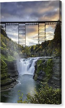 Portage Bridge Canvas Print