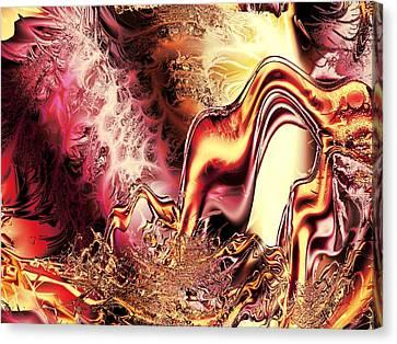 Portal Canvas Print by Anastasiya Malakhova